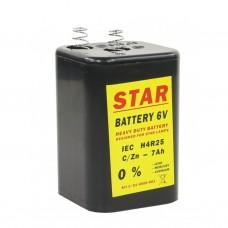 Blokbatterij 6V 4R25