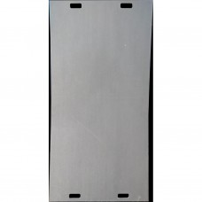 Rijplaat in kunststof 200x100cm/15mm