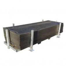 Metalen stapelbak voor rijplaat