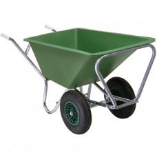 Landbouwkruiwagen 170L dubbel wiel