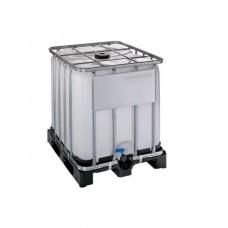 IBC watertank 1000 liter op kunststof pallet