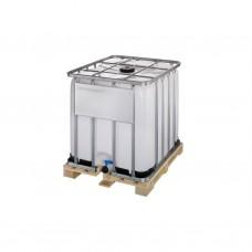 IBC watertank 1000 liter op houten pallet