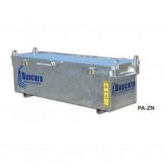 BOSCARO PA-20.07ZN materiaalbak verzinkt (int. 195x100x75h)