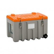 CEMbox Trolley 150L grijs/oranje
