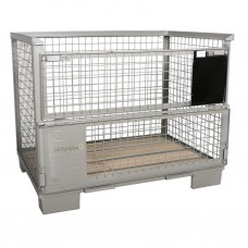 Gitterbox (lxbxh) 1240x840x970 - draagkracht 1500kg/6000kg -conform UIC435-3