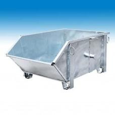 müba-Kipp-Container Typ I, verzinkt, schräge Schütte (Müba 25049)
