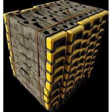 Kunststof blok voor bouwhek hi-viz (18 kg)5.1
