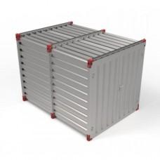 Materiaalcontainer (b) 220cm x (h) 220cm x (l) 3m