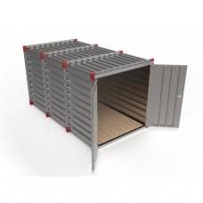 Materiaalcontainer (b) 220cm x (h) 220cm x (l) 4m
