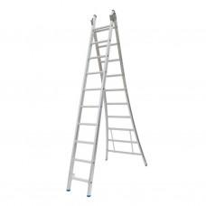 Ladder 2-delig model C 2x10/VGS