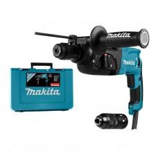 Makita HR2470FT SDS+ boor- en beitelhamer 24mm 780W + automatische boorkop + koffer