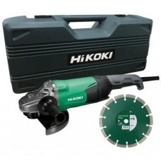Hikoki HAAKSE SLIJPMACHINE IN KOFFER EN DIAMANT 2.200 W - 230 mm -- G23SW2WWZ
