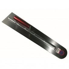 Chapeijzer 600 x 115/80 x 1,1 mm ronde neus lange hechting - staal
