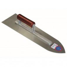 Chapeijzer 400 x 110 x 1,1 mm spitse neus - staal