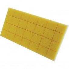Kunststofspaan 270 x 140 x 30 mm met dikke hydro spons ''cut out''