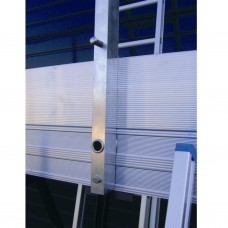 kantplank voor werkbrug 8.20m