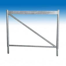 Opzetstuk vr opdraaib schraag 1m x 120 cm (Müba 19551)