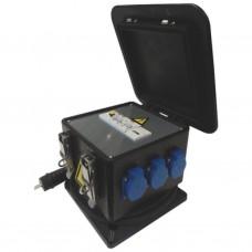 Startkast PIKO rubber 16A met kWh-telling