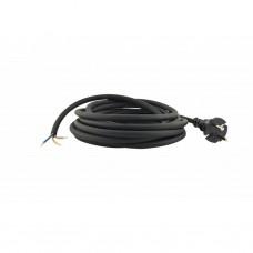 Neopreen machine aansluitkabel - 5 m - H07RN-F/3G 1,0 mm2