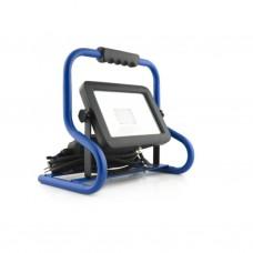 LED straler N-50 : 50 Watt op voet / 3 m. H07RN-F / IP54 /4000K