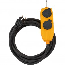 Stroomverdeler powerblock IP44/3x2.5/5m