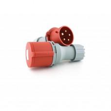 CEE stekker (M) - 5-polig - 3P + N + A - 400V - 32 A
