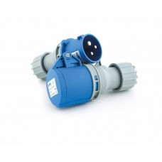 CEE koppelstekker (F) - 3-polig - 2P + A - 250V - 16 A