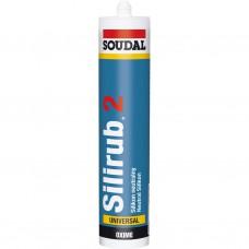 Soudal SILIRUB 2 transparant 300 ml