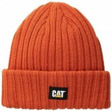 CAT C443 Muts grote ribben Oranje L