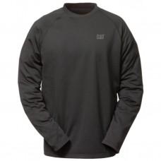 CAT T-shirt 1499010 FLEX LAYER TEE SHIRT Zwart S