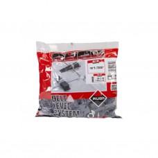 Rubi Delta leveling systeemclips dikte 1,0mm, hoogte 3-12mm (100 stuks)