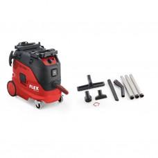 Flex VCE33LAC Stofzuiger 33 liter + reinigingsset + vlieszakken (459.704)