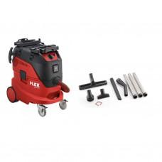Flex VCE44LAC Stofzuiger 40 liter + reinigingsset + vlieszakken (456.535)