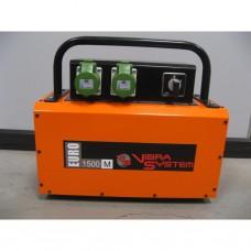Vibra System - SE1500M.0320 omvormer Euro 220V / 1,8 kVa / 2 aansluitingen